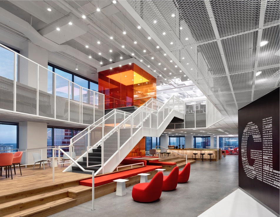GLG Austin Offices Atrium