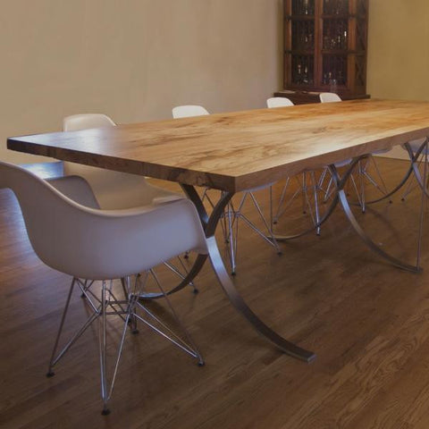 Custom Madrid Pecan Dining Table