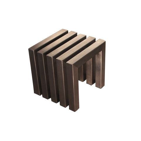 Linear Cube - Stainless Steel