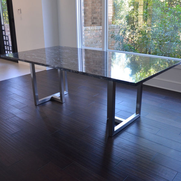 Intersect Dining Table with Granite Top