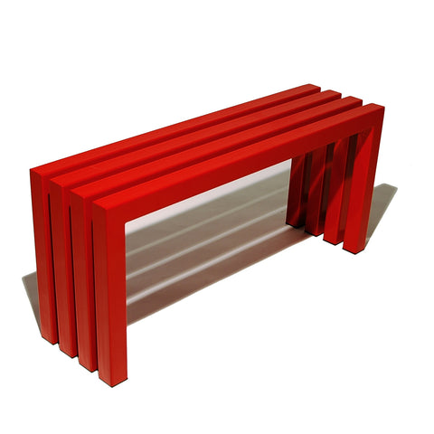 Linear Bench - Industry Red