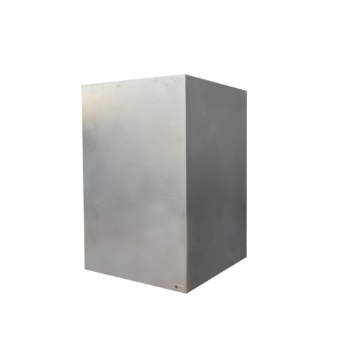 "24"" X 24"" X 36"" Tall Stainless Steel Planter"
