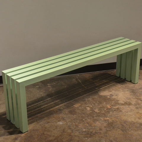 Linear Bench - Mint Green