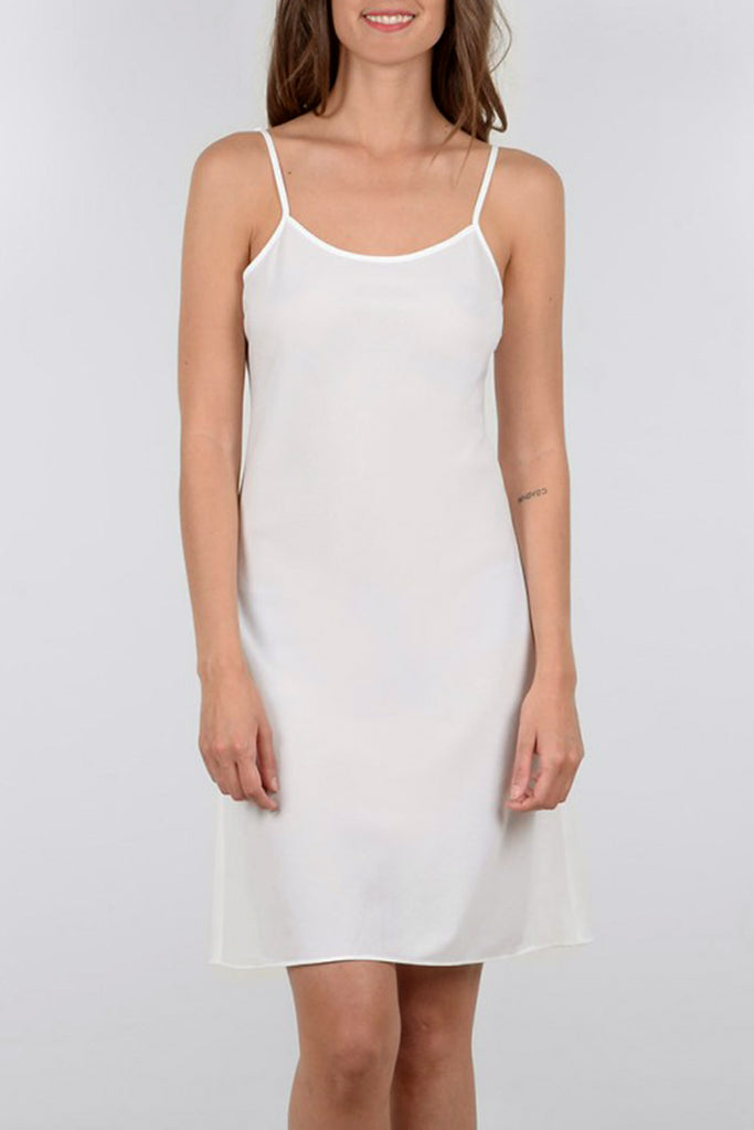 Woven Underdress in White