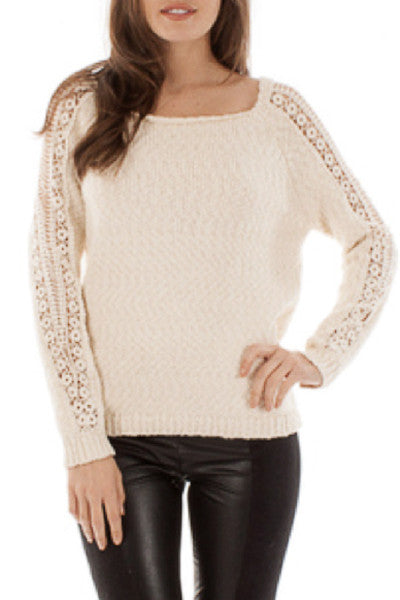Dasha Sweater in Ivory