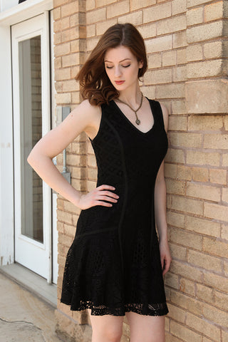 Croacia Dress in Black