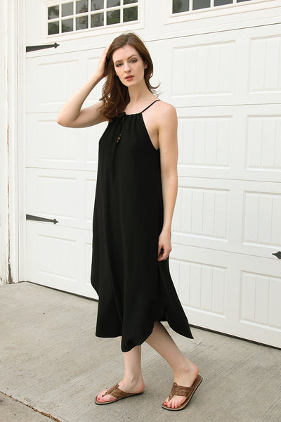 Cloverleaf Dress in Black