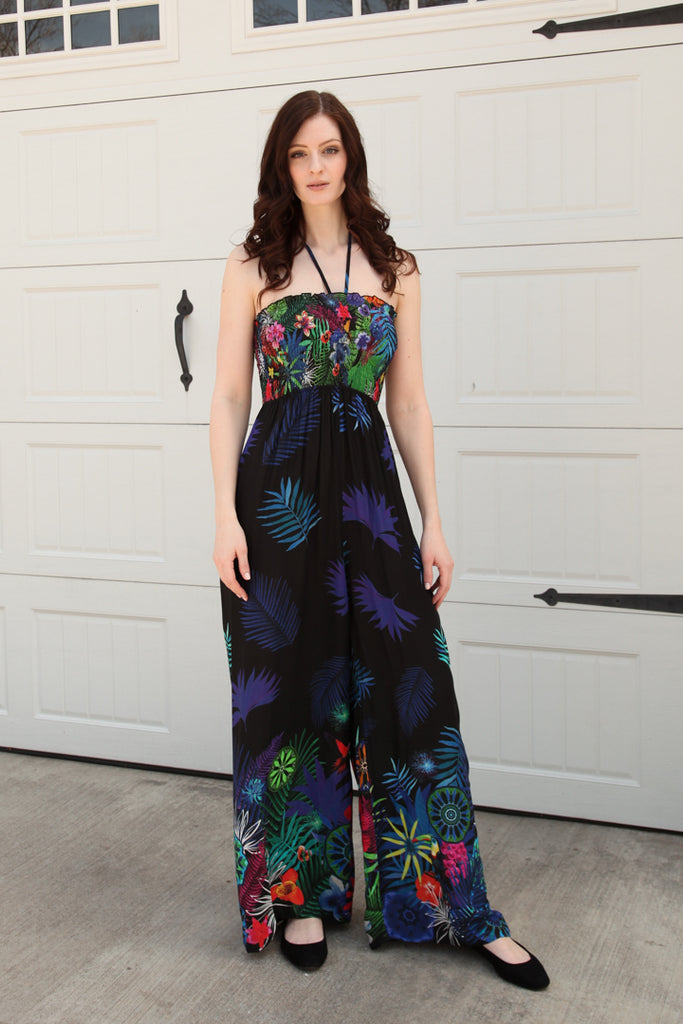Jeanette Strapless Jumpsuit