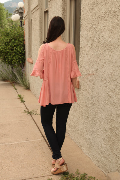 Tanya Tunic in Dusty Pink