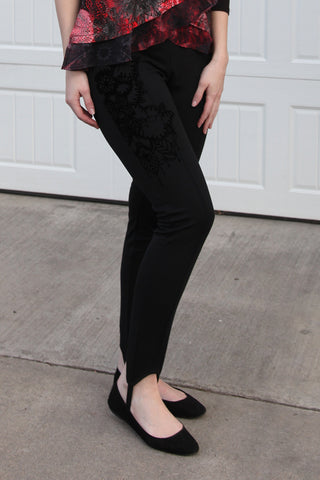 April Legging in Black