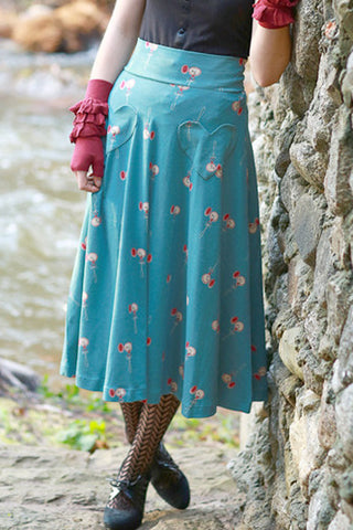 Picnic Skirt in Pocket Watch