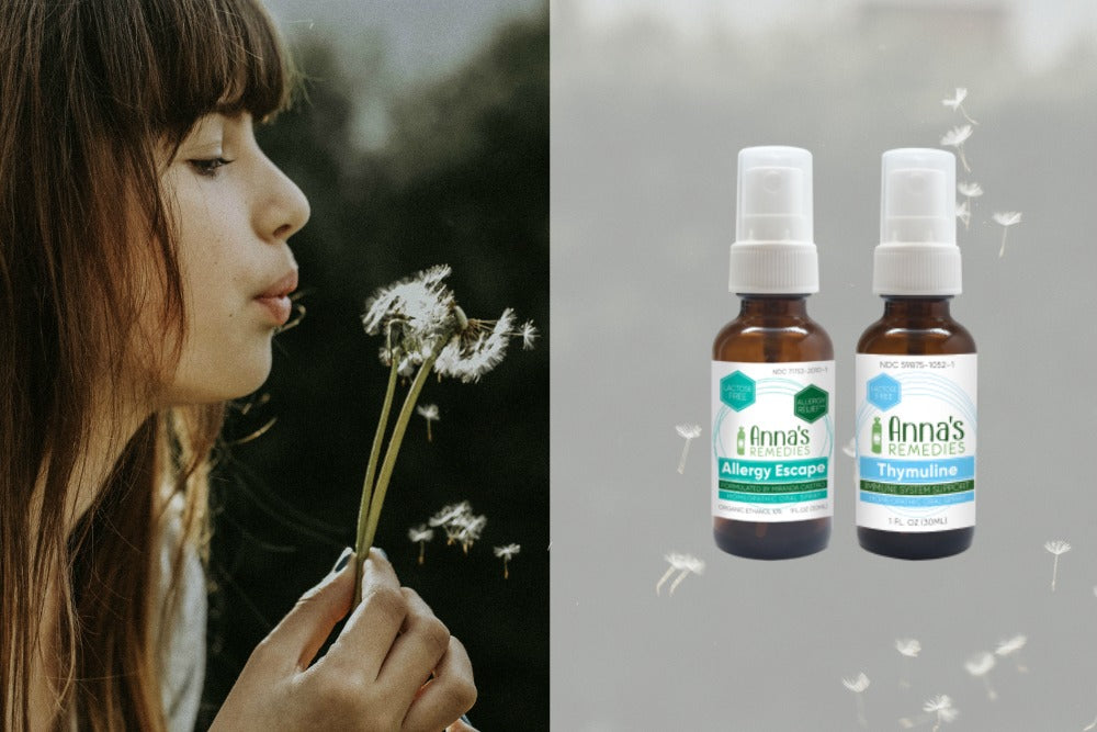 Anna's Remedies Homeopathic Allergy Relief Combo — Your Natural Solution