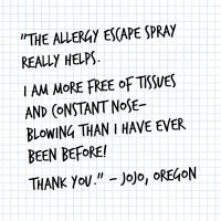 Allergy Escape Customer Review