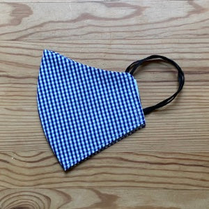 Cotton Face Mask - Sporty Blue