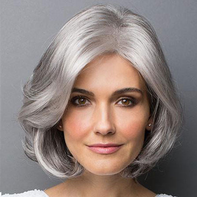 KAMI 066 Gorgeous Collar Length Curly Bob Wig for Women-KAMI WIGS