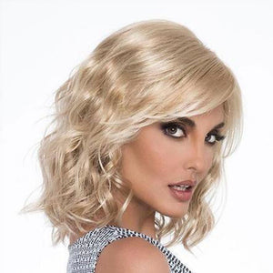 KAMI 044 Sassy Shoulder Length Water Wavy Bob Wig for Ladies-KAMI WIGS