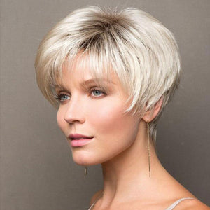 KAMI 003 Affordable Spiky Razored-Top Short Straight Wig-KAMI WIGS