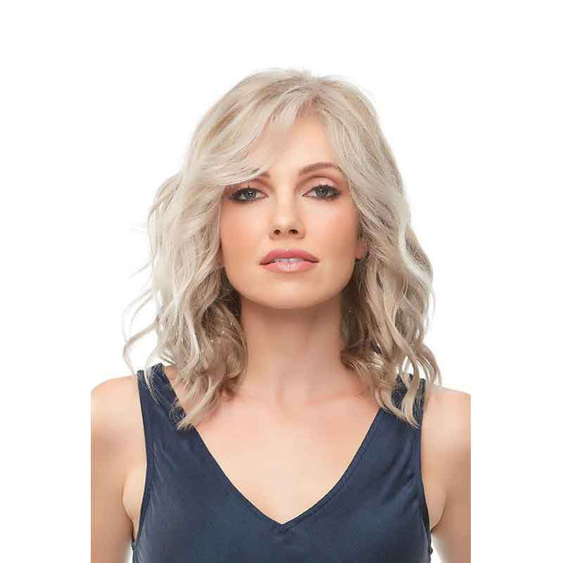 KAMI 043 Inexpensive Shoulder Length Wavy Wig for Women-KAMI WIGS