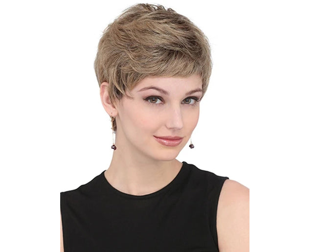 KAMI 153 Short Pixie Wavy Women Wig