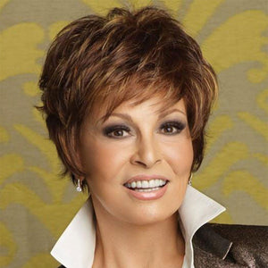 KAMI 101 Cropped Boycuts Short Wavy Wig for Ladies-KAMI WIGS