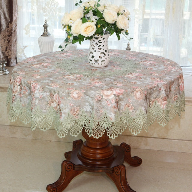 Lace Round CoffeTea Table