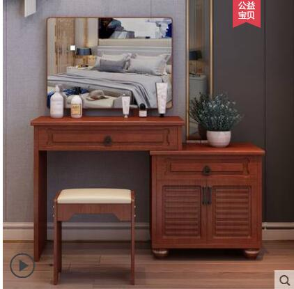 Jane Europe dressing table bedroom multi-functional princess economy 60 small family mini assembly dresser.
