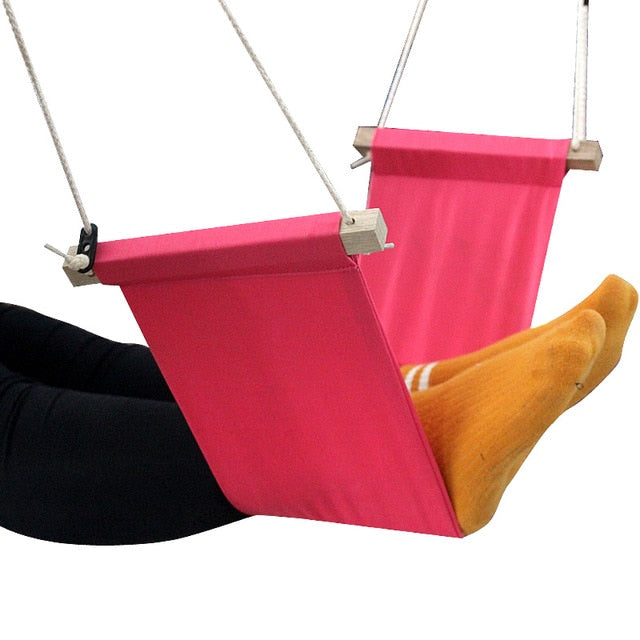 Feistel Desk Feet Hammock Foot Chair Care Tool The Foot Hammock Outdoor Rest Cot Portable Office Foot Hammock Mini Feet Rest