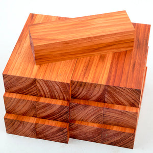 African Padauk Wood Blank Blocks