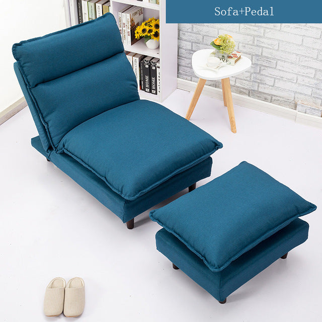 Modern Sofa Set Living Room Furniture Sofa Bed Furniture Fabric Armchair Folding Recliner Reclining Back Arm Accent Chair