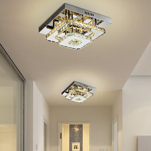 Modern Crystal LED Ceiling Light