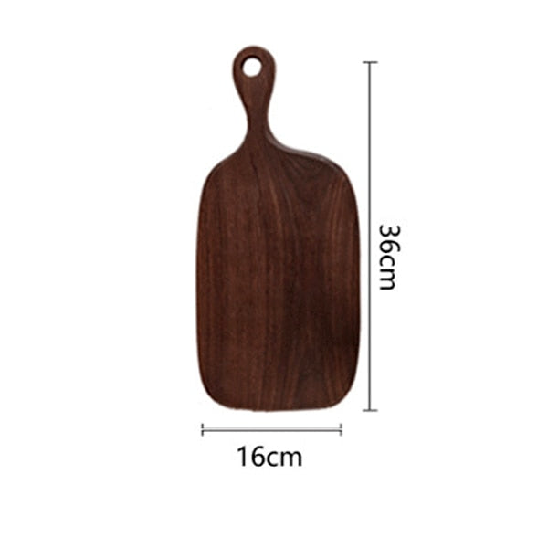 Black Walnut Chopping Board Bread Board Sushi Plate Real Wood Tray Pizza Board Cutting Board Chopping Blocks