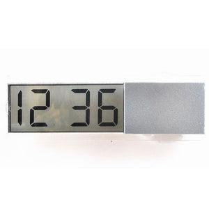 Home Decor Liquid Crystal Display  Desk Table Clocks With Suction Cup LCD Car Timer Digital Clock Car Electronic Clock  1 Pcs
