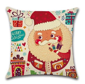 Christmas Decorations For Home  Santa Claus Cushion  Pillow Christmas Tree Decorations Merry Christmas New Year Gift 2020