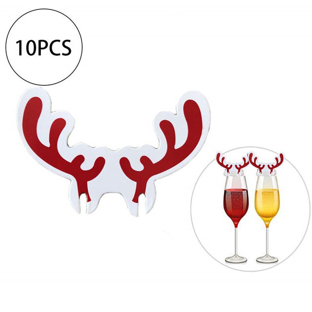 10PCS/Lot Christmas/New Years Decorations For Home Table Decor