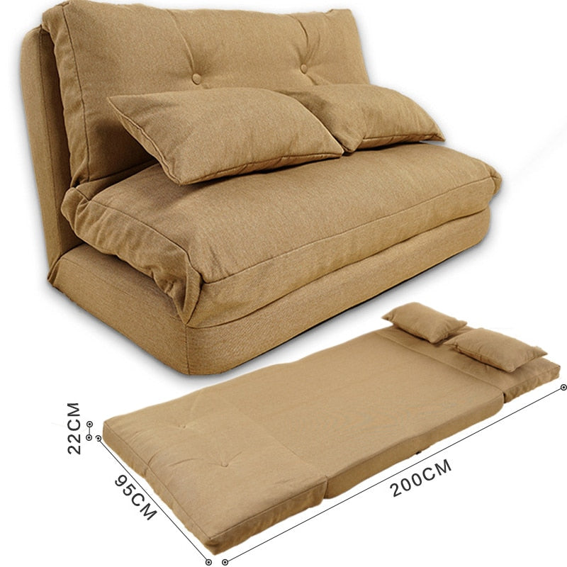 Folding Adjustable Lazy Sofa Bed