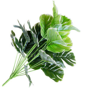 1 Bouquet Mexican Autumn Artificial Plants and Green Turtle Leaves