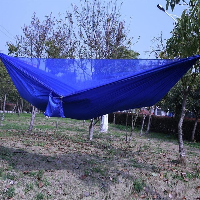 Easy Set Up Mosquito Net Double Hammock