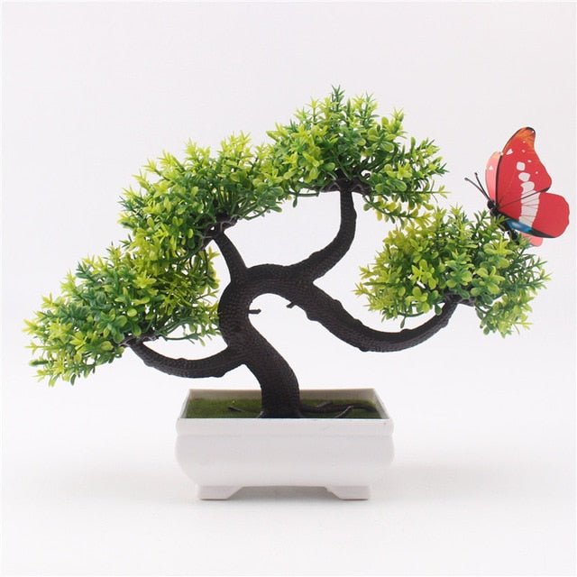Artificial Bonsai Small Tree Pot Plants