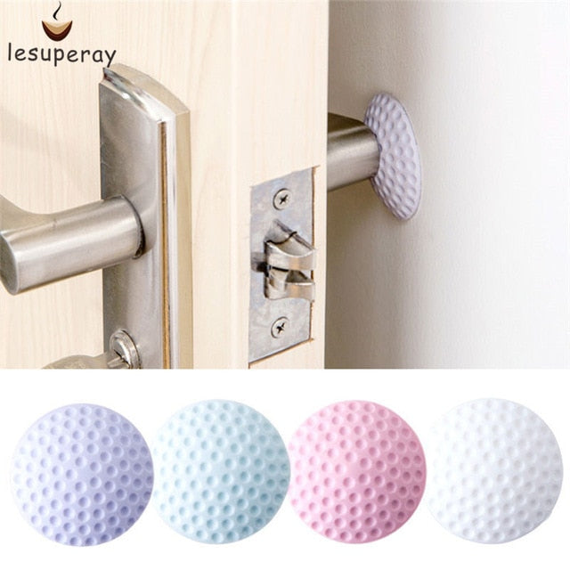 1PCS Wall Thickening Mute Door Stick Golf Styling Rubber