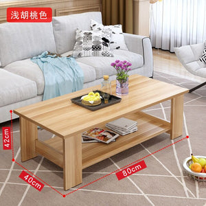 Minimalist Modern Coffee Table Living Room Furniture Storage Cabinet Sofa End Table Bedroom Bedside Computer Desk Home Supplies