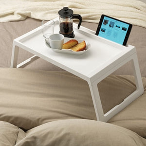 New Portable Bed Table Warm Bed Folding Table Rack Curly Puck Dining Table With Folding Bed Learning Table