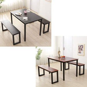 3 Piece Wood Dining Table