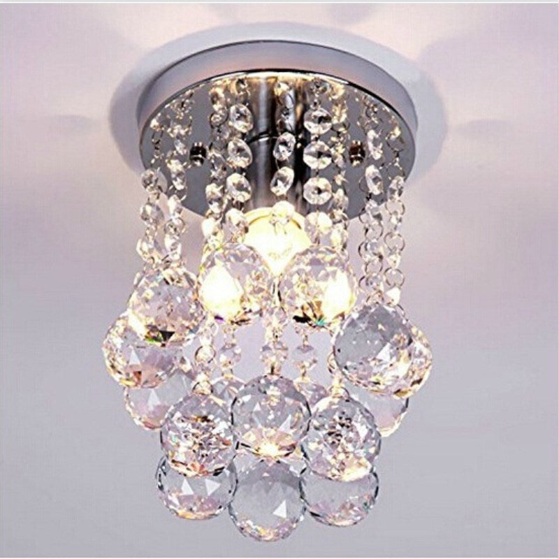 Ceiling Lights Indoor Crystal Lighting LED Luminaria Abajur Modern LED Ceiling Lamp For Living Dining Bed Room Home Decoration