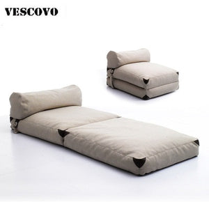 High Quality Floor Sofa Bed Adjustable Sofa Furniture Living Room Lazy Sofa Bed Tatami Bean Bag With Pedal