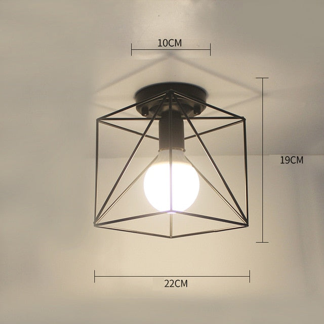 Industrial Style Ceiling Lamp