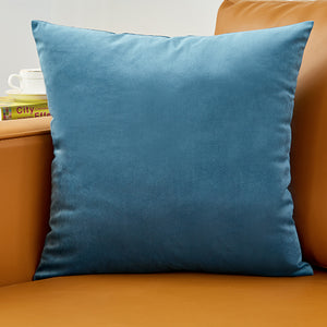 26colors Pillow Cover Velvet Cushion Cover For Living Room Sofa 45*45 Kussenhoes Blue Home Decorative Housse De Coussin