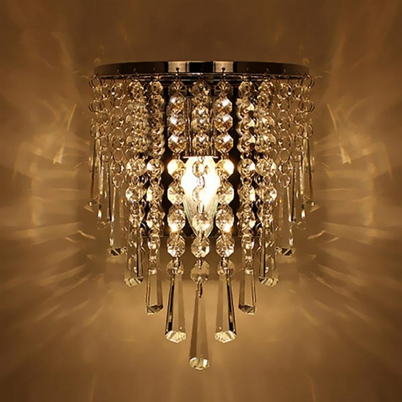 Modern Crystal Wall Lamp
