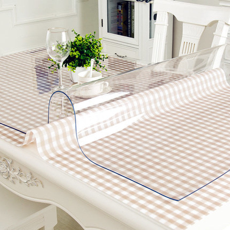 Transparent Waterproof PVC Tablecloth