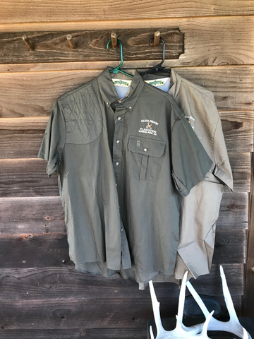 Bob Allen short sleve paded hunting shirt