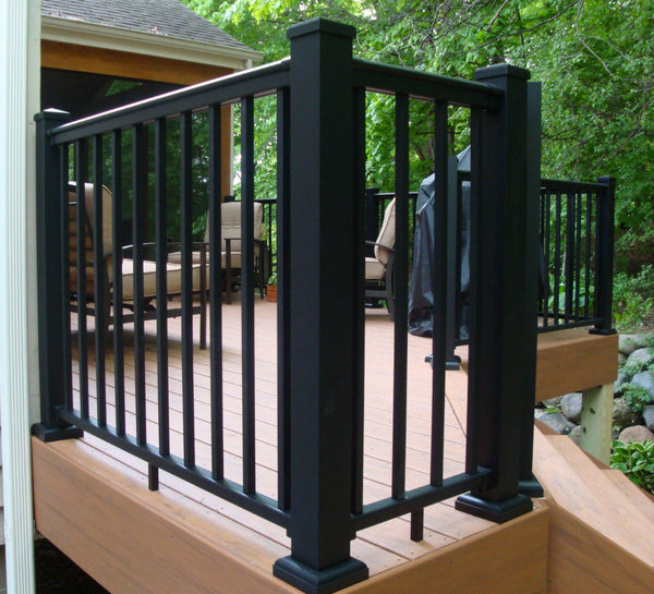 Aluminum Newel Post For Railing Kits